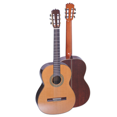 GC-Ramirez Ramirez style Gomera classical guitar, rosewood back and side with selected Cedar top ...
