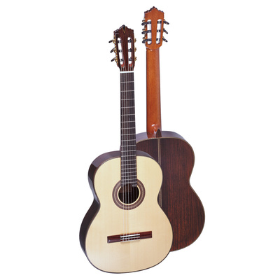 GC-13 Selected AAA+ solid top Cedar or Spruce matched high quality rosewood, ebony fingerboard...