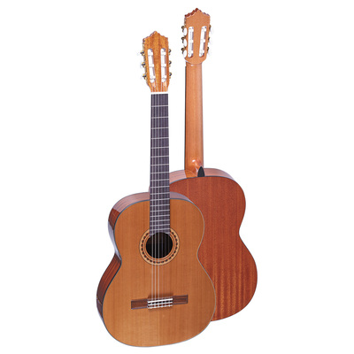 GC-04C Primary solid top for students, Cedar or spruce top, Sapele back & side, 580/520/480mm ...