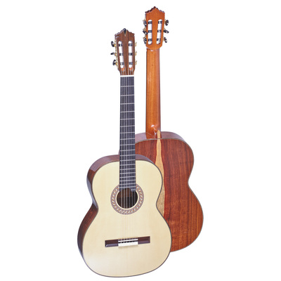 GC-Santos Beautiful all solid Santos back and side with selected spruce top, handmade binding ...
