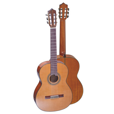 GC-11 The first model of all solid, cedar top with selected mahogany, Spanish one piece neck and ...