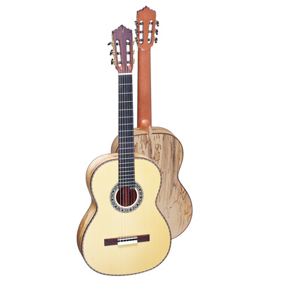 GC-19F Equiped with Solid AAA+ Grade European Spruce/Cedar Top and rare Solid Map Maple wood ...